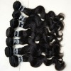 premium bresilienne virgin human hair weaving in stock