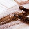 pretty I-tip hair Keratin hair extensions