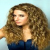 pretty indian human remy hair deep wave full lace wigs