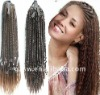 quality human micro braiding hair