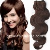 quality remy hair chocolate