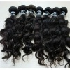 raw brazilian hair virgin full cuticle wavy human hair weave