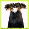 remy hair nail tip hair extension