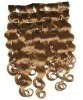 remy indian hair clip in hair extension