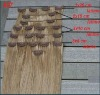 remy indian hair invisible clips on hair