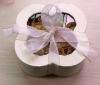 rose soap in clover box