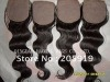 silk top closure,100% human hair,hidden knots, all hand tied,high quality