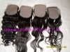 silk top closure,100% human hair,hidden knots,all hand tied,hot sale