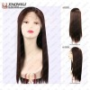silky straight synthetic hair wig