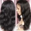 silky stright wave human remy hair jewish wig