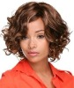 simple and short Chinese human hair full lace wig