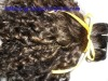 single drawn virgin natural human hair