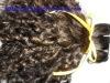 single drawn virgin natural human hair