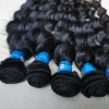 single weft brazilian virgin hair extension for customized order