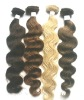 soft Indian virgin human remy hair extensions