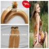 soft and no shedding pre-bonded hair extension
