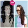 soft and tangle free indain hair lace front wig