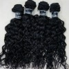 soft curly indian remy hair machine hair weft