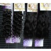 soft peruvian hair weft different textures colors in stock