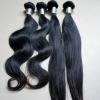 soft touch raw hair weft peruvian hair could be dyed again