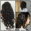 stable quality Indian remy hair Swiss lace full lace wig