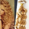 stick hair extensions/ purely human hair, pre-bonded hair extension
