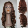 stock fashion wave 18inch 33# chinese virgin hair lace wig