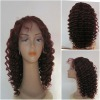 stock french curl 16 inch 33# lace wig wholesale
