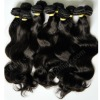 strong weft double machine made wefts virgin malaysian hair for wholesale