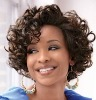 stylish and short human hair lace wig for ladies
