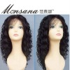 super long charming full lace human hair wig for African American market