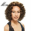super quality Afro Indian remy human hair full lacewigs for black women