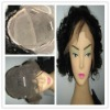 swiss lace full lcae Indian wave human hair wig