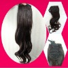 synthetic brown wig hair extension