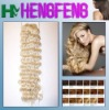 synthetic deep wave hair weft