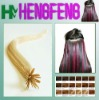 synthetic hair extension pre bonded hairI tip