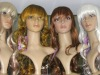synthetic long carnival curly wigs