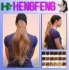 synthetic straight ponytail with drawstring