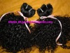 t-100%human remy hair weft/hand tied weft