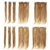 tangle free clip on hair 100g/pcs