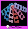 toe separator in different color