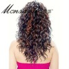 top quality Indian remy human hair full lace Afro wigs for black women