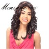 top quality Indian remy human hair full lace wigs for black women