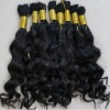 top quality brazilian hair bulk curly wave in stock