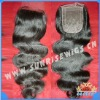 top quality in stock body wave virgin brazlian hair lace closure