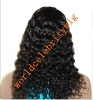 top quality natural hairline Indian Remy hair full lace wig