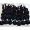 top quality virgin indian hair weaving naturally curly