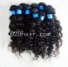 unprocessed virgin curly hair weft brazilian virgin hair