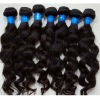virgin brazilian hair extension wavy and straight in stock with competitive price
