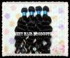virgin brazilian human hair extensions pure remy hair weft hair weave